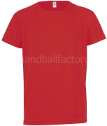 Camiseta de Balonmano SOLS Sporty Kids 01166-145
